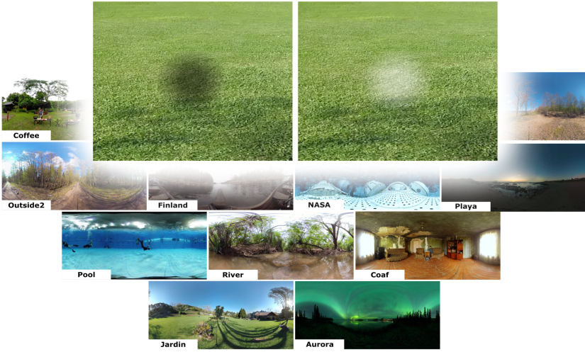 Stereo Inverse Brightness Modulation for Guidance in Dynamic Panorama Videos in Virtual Reality