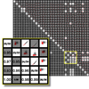 Automated Analytical Methods to Support Visual Exploration of High-Dimensional Data