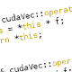 CUDA Expression Templates