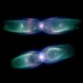 Fast Image-Based Modeling of Astronomical Nebulae